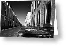 Streets Of Puebla 8 Greeting Card