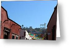 Streets Of San Miguel De Allende 2 Greeting Card