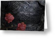 Strength Of A Rose Greeting Card