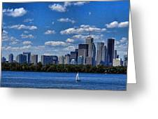 Striking Toronto Skyline Greeting Card