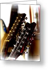 Strings Galore - Guitar Greeting Card