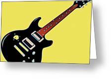 Strings Of Rock Greeting Card