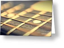 Strings Greeting Card