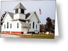 Stringtown Community Church Greeting Card