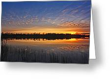 Stripe Reflection Greeting Card