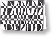 Striped Greeting Card