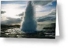 Strokkur Geyser - Iceland Greeting Card