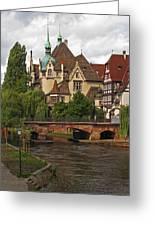Strolling Through Strasbourg Greeting Card