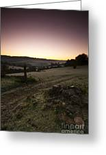 Stroud Sunrise Greeting Card