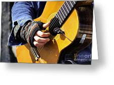 Strum Greeting Card