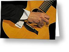Strum'n Greeting Card