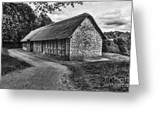 Stryd Lydan Barn Mono Greeting Card