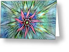 Sttained Glass Window Greeting Card