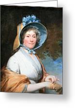Stuart's Henrietta Marchant Liston Or Mrs. Robert Liston Greeting Card