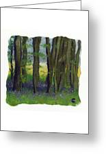 Stubb Wood Greeting Card