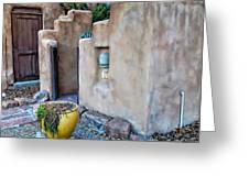 Stucco Condo In Santa Fe Greeting Card