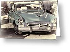 Studebaker 3 Greeting Card