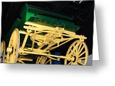 Studebaker Wagon Greeting Card