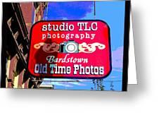 Studio Tlc In Bardstown Kentucky Greeting Card