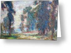 Study Of An Impressionist Master Greeting Card by Quin Sweetman