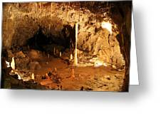 Stump Cross Caverns Greeting Card