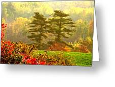 Stunning - Looks Like A Painting - Autumn Landscape  Greeting Card