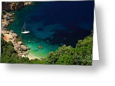 Stunning Beach Kefalonia Greeting Card