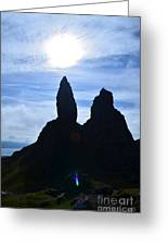 Stunning Old Man Of Storr Greeting Card