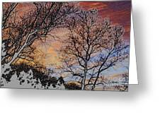 Stunning Painted Greeting Card