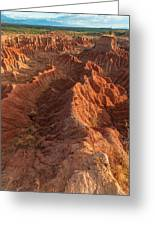 Stunning Red Rock Formations Greeting Card