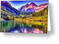 Stunning Reflections Greeting Card