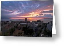 Stunning Sunset Greeting Card