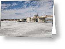 Sturgeon Bay Bridge  Greeting Card