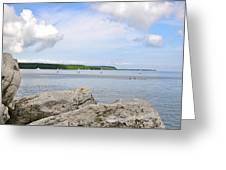 Sturgeon Bay In Summer Greeting Card