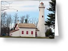 Sturgeon Point Lighthouse Greeting Card