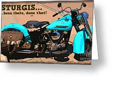 Sturgis Motorcycle Rally Greeting Card