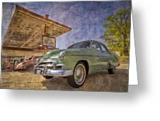 Stylish Chevy Greeting Card