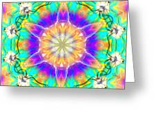 Subconscious Emerald Greeting Card