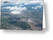 Suburbs Of Rome Greeting Card