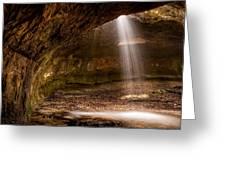 Subway Falls Greeting Card
