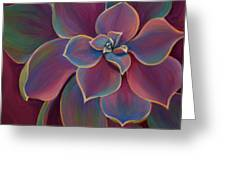 Succulent Delicacy Greeting Card