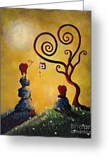 Such A Romantic By Shawna Erback Greeting Card