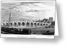 Suez Canal, 1894 Greeting Card