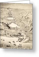 Suez Canal Greeting Card