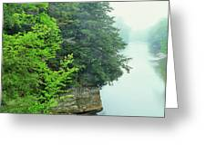 Sugar Creek, Turkey Run State Park Greeting Card