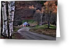 Sugar Shack - Reading Vermont Greeting Card