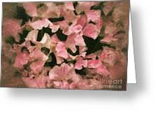 Sugared Sweetpeas Greeting Card