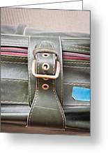 Suitcase Buckle Greeting Card