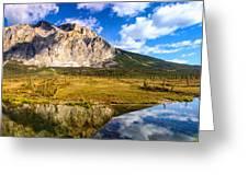 Sukakpak Reflection Greeting Card