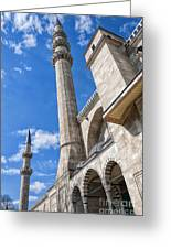 Suleiman Mosque 08 Greeting Card